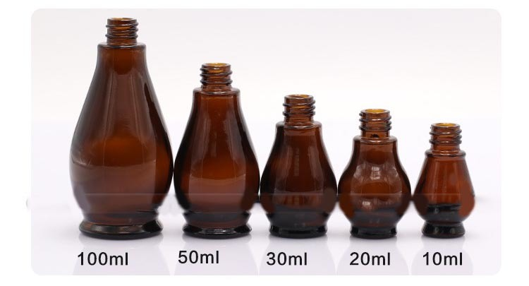 New Cosmetic Container Cosmetics Glass Bottles (NBG07)