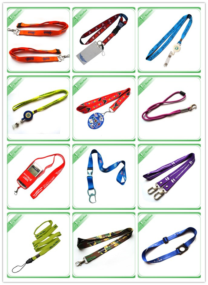 Holiday Decoration Lanyard with Zipper (HN-LD-134)