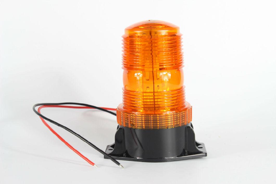 10-110V LED Revolving Flash Emergency Warning Strobe Beacon Lightbar with EMC for Trucks Trailer