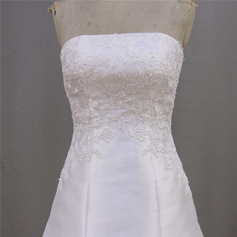 2016 Guangdong Latest Designs Mikado Wedding Dress