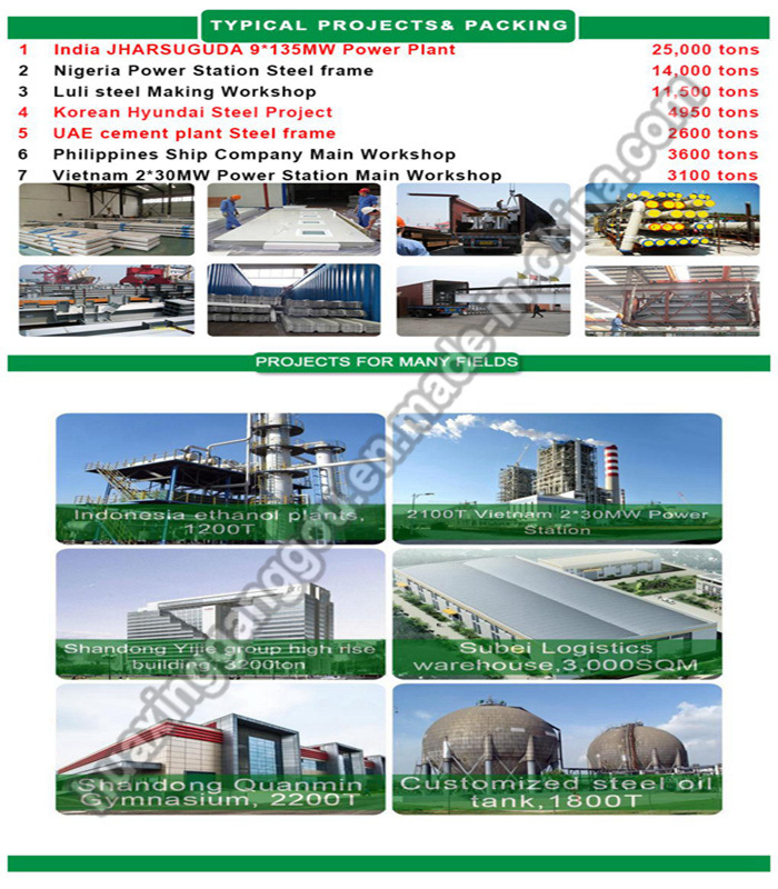 High Level Manufacture Use S355jr Material Warehouse Kits