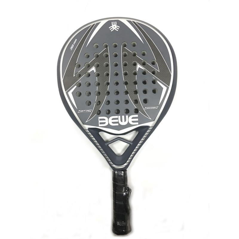 50%Carbon+50%Fiberglass Paddle Racket