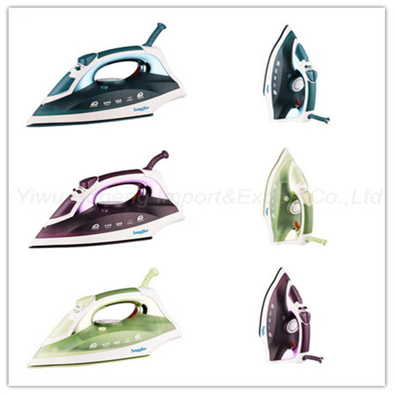 Electric Steam Iron Ssi2832 Electric Iron with Full Function (Purple)