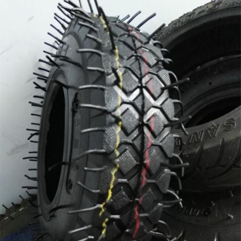8 Inch 2.50-4 Rubber Pneumatic Wheelbarrow Tire