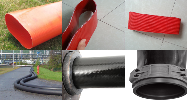 Durable TPU Layflat Drag Hose