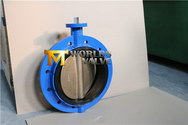 Monoflange Butterfly Valve with Al-Bronze Disc