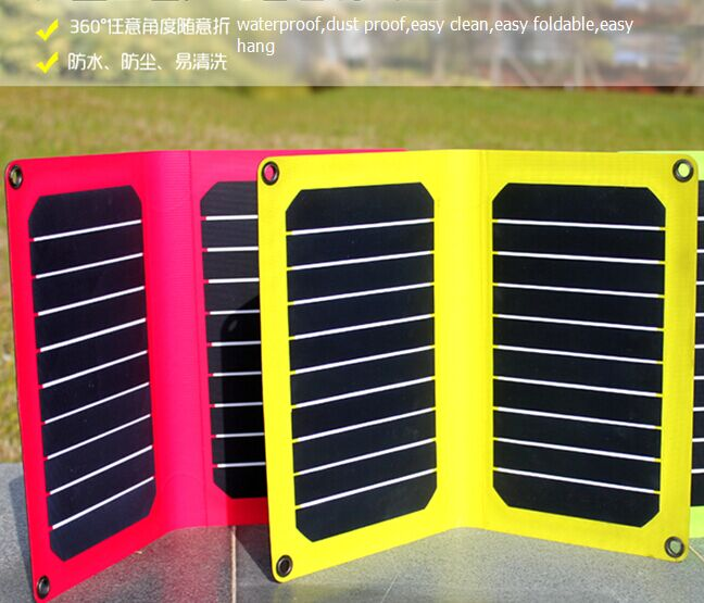 Solar Camping Charger