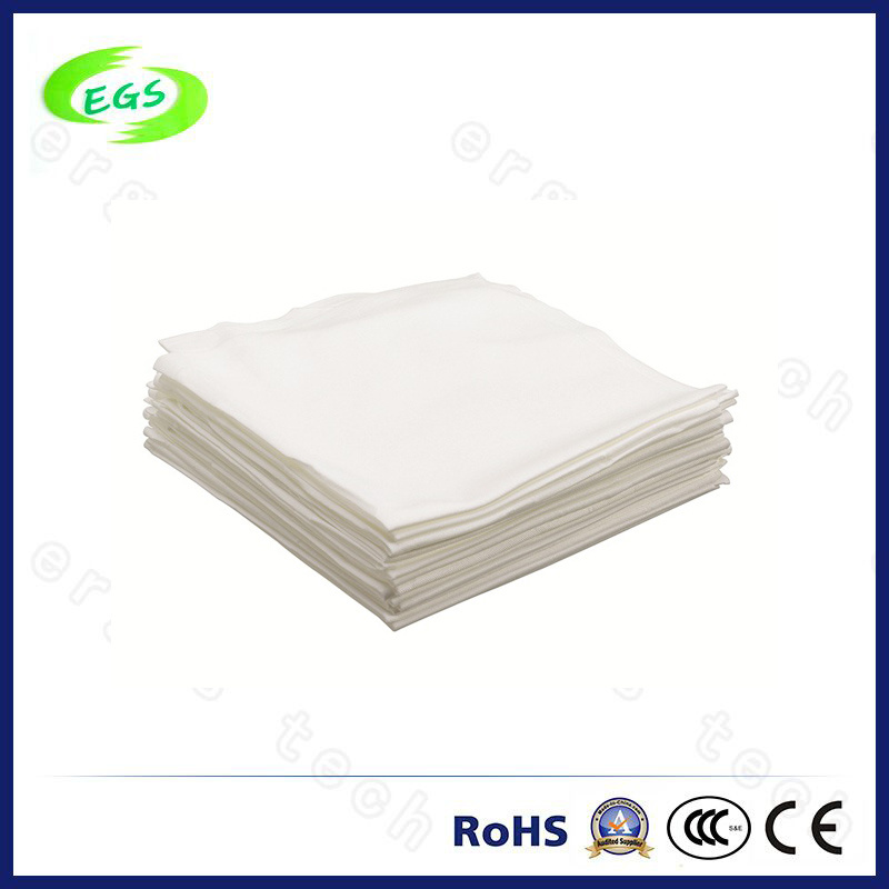 230g Dust Free Cleanroom Wipes High Absorbing Microfiber Wiping Cloth
