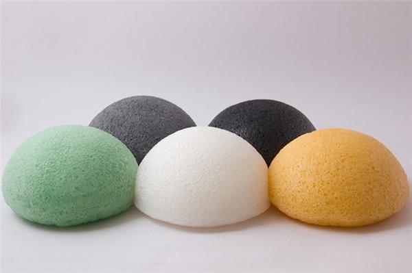 Skin Care 100% Vegetable Fiber Facial Cleaning Sponge Konjac Sponge