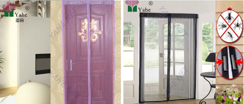 Hands-Free Mosquito Net Door Curtain