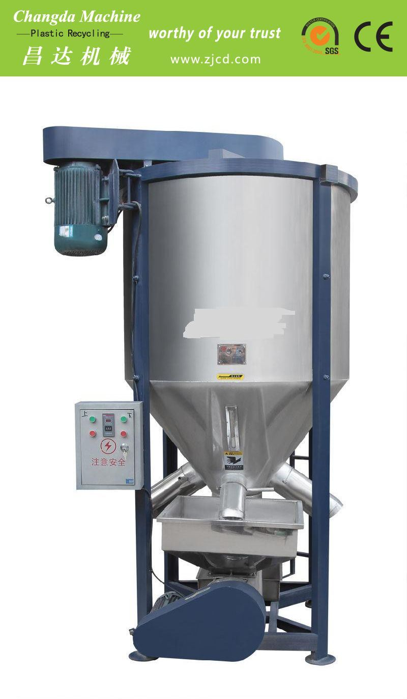 Industrial Plastic Drying Vertical Color Mixer