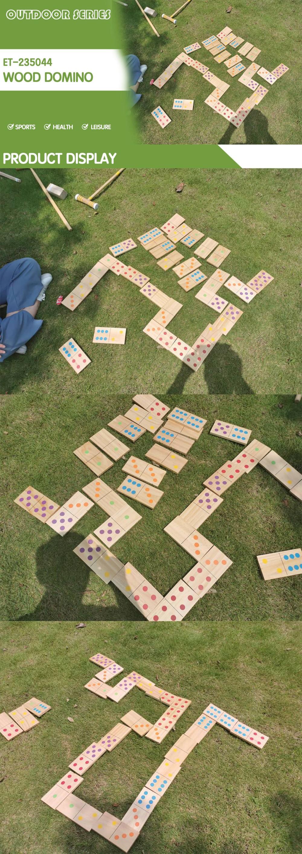 domino game toy set