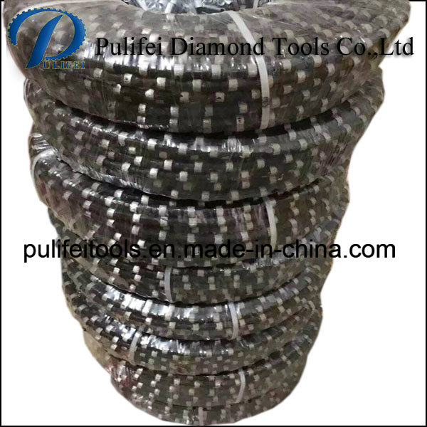 Plastic PVC Diamond Wire Saw for Granite Cutting