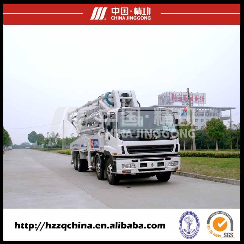 47m Ssab Steel Isuzu Truck-Mounted Concrete Delivery Pump (HZZ5381THB)