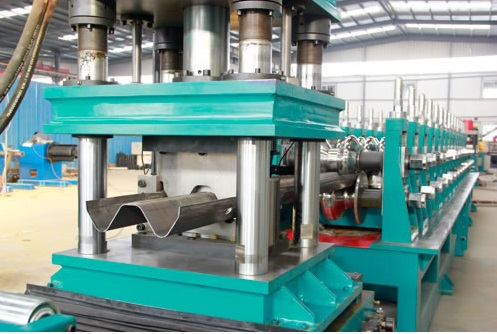 Advanced Technical Guardrail Installation Rolling Form Machine
