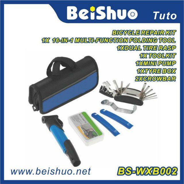 Bicycle Repair Tool Kit with Portable Bag