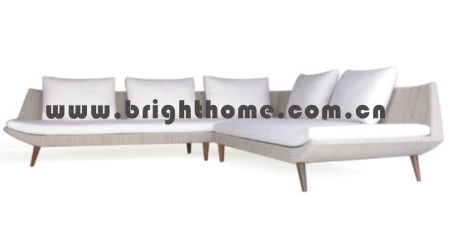 Excellent Design Wicker Rattan Sofa Set Outdoor Furniture Bp-833