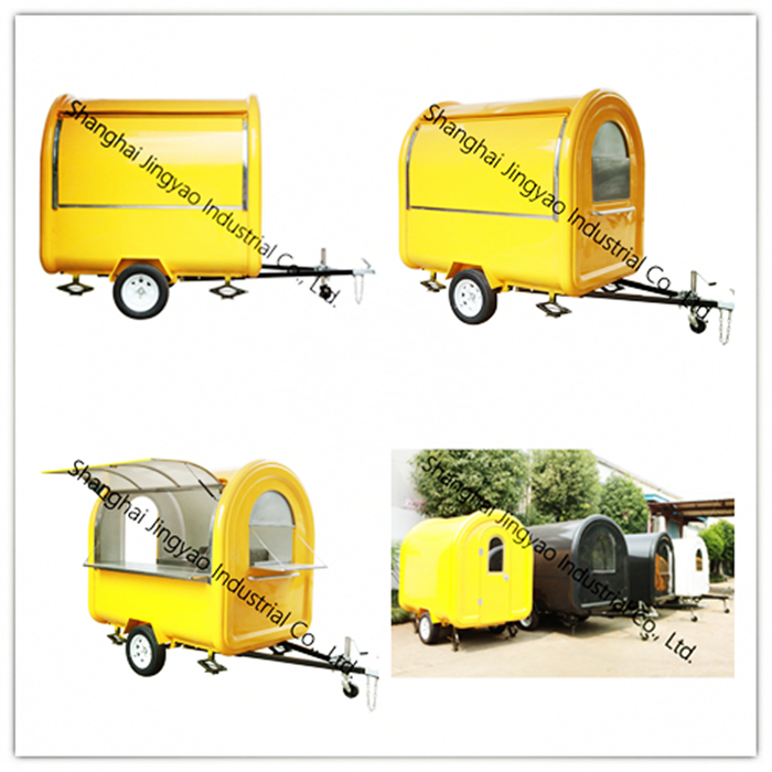 Outdoor Mobile Hamburger Food Cart for Sale