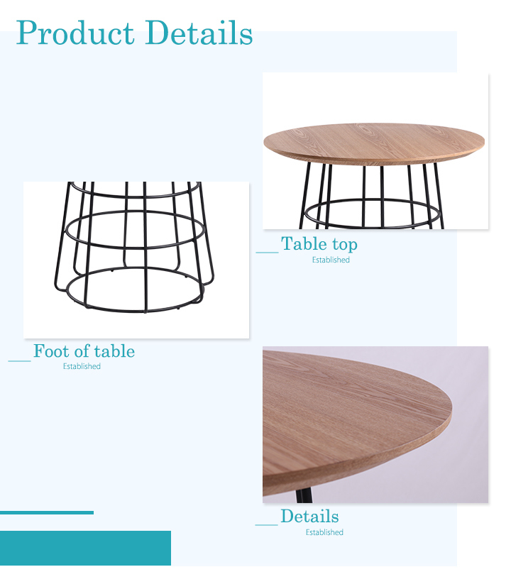 Coffee Table Set Modern Design Wooden Coffee Table