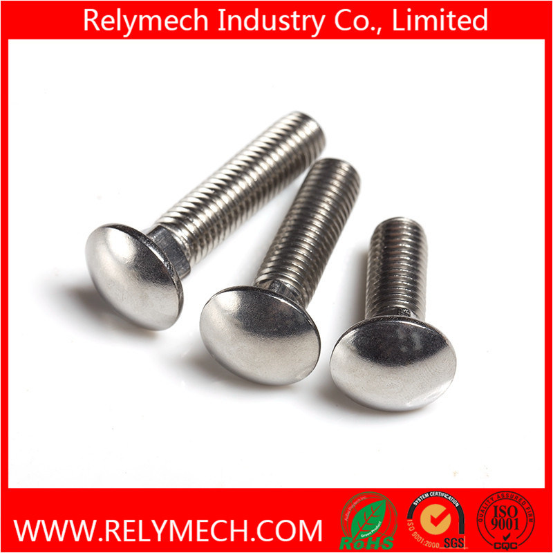 Stainless Steel Carriage Bolt Mushroom Head Square Neck Bolt
