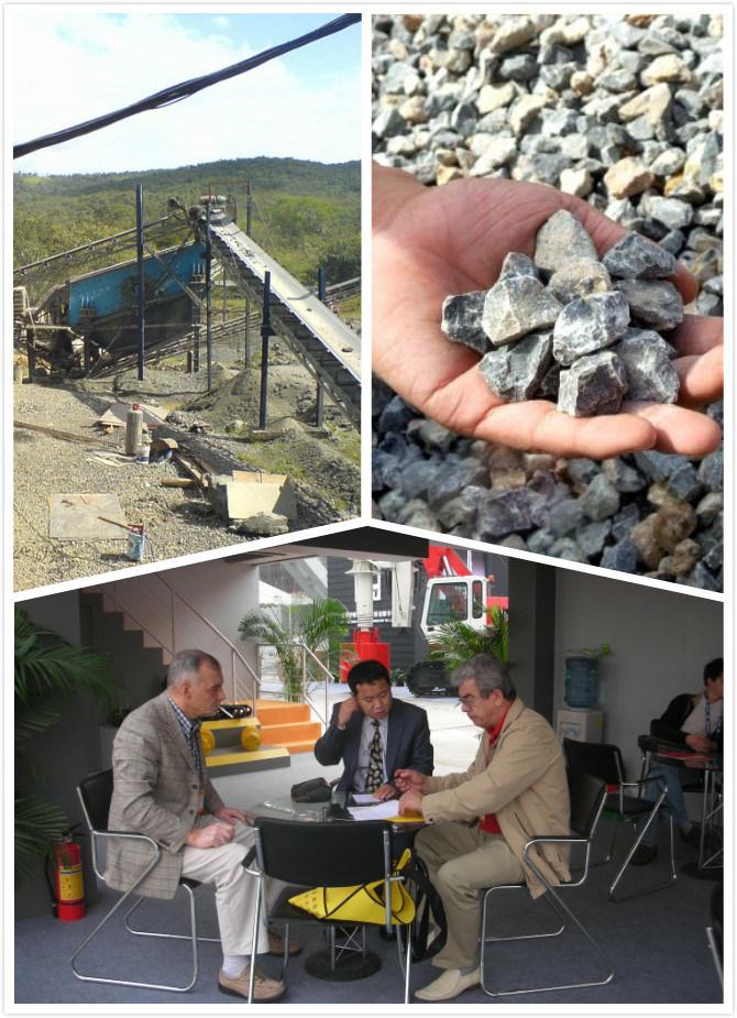 Stationary / Fixed Stone Production Line