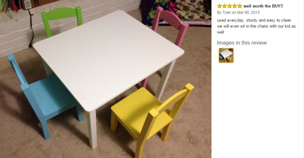 Kids/Children Table&Chairs for Studying