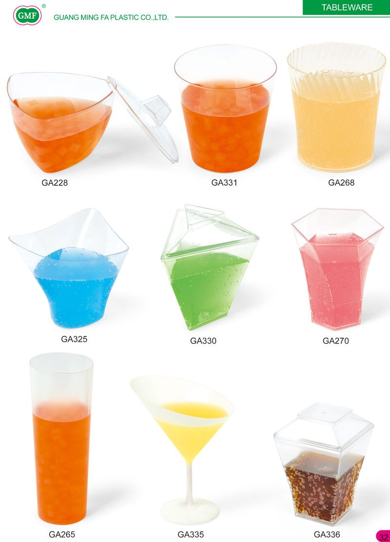 Ogival Bottom Cup 2 Oz with Acrylic Cone Stand Cocktail