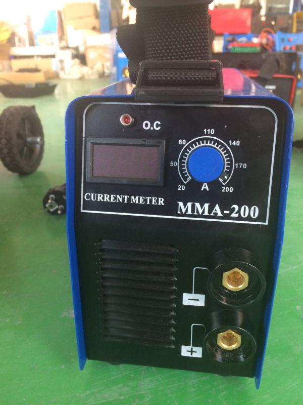 Inverter Arc DC Welder Portable Arc Welding Machine MMA125D/145D/160d/200d