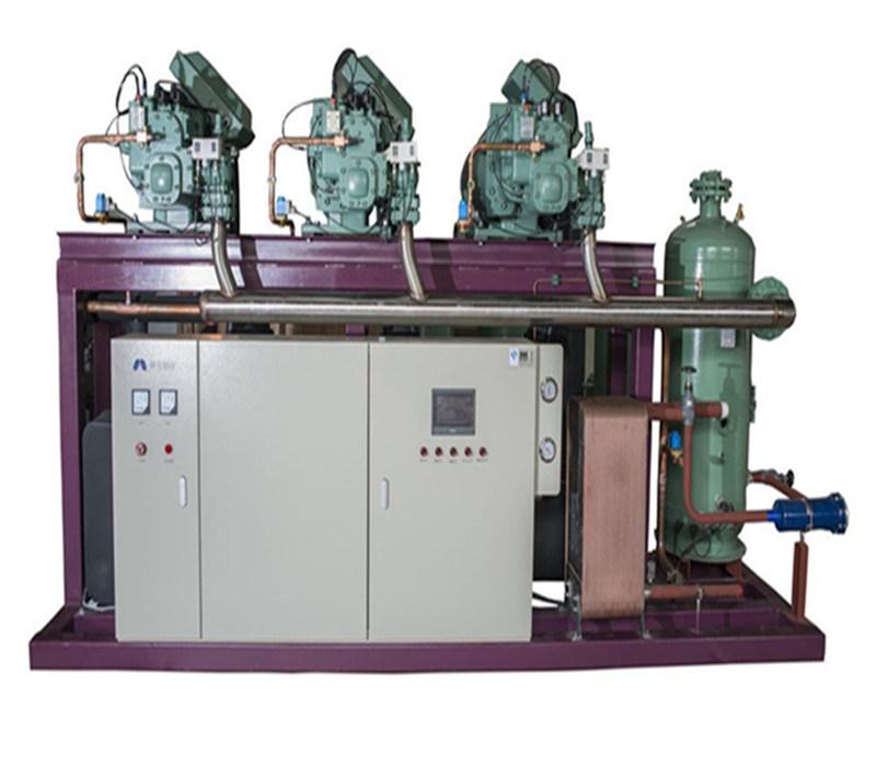 Refrigeration Compressor Paralleled Unit, Bitzer Semi-Hermatic Compressor