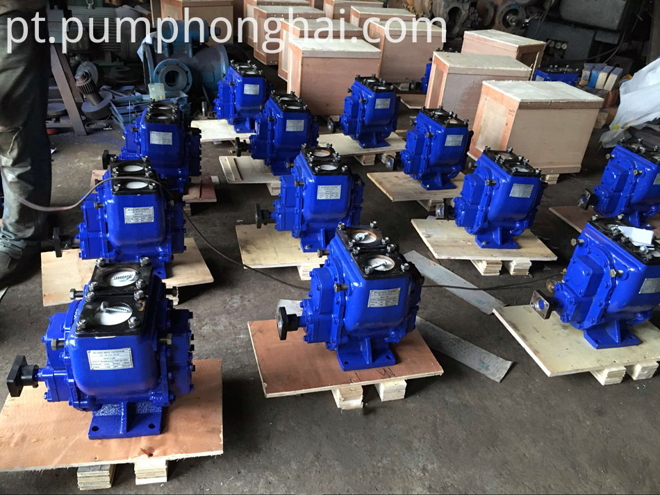 New type fuel oil gear pump