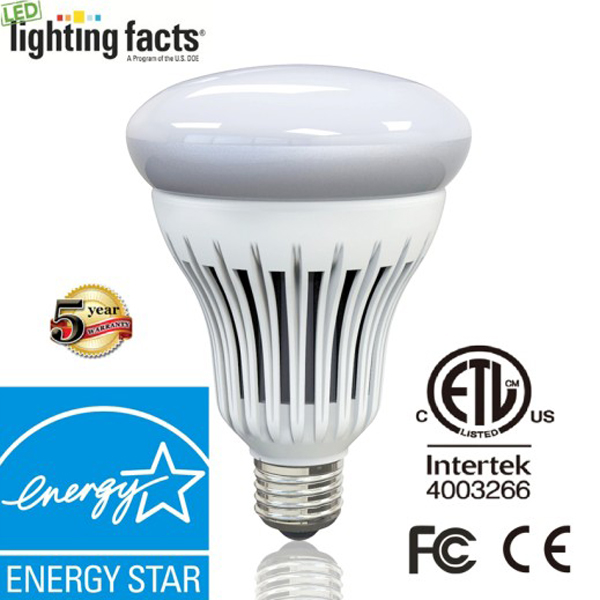 Double Layer Designed Dimmable R40/Br 40 LED Bulb with Energy Star & Dlc