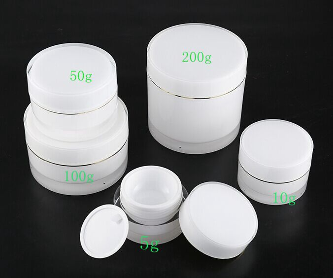 5g 10g 30g 50g 100g 200g High Quality Acrylic Cream Jar