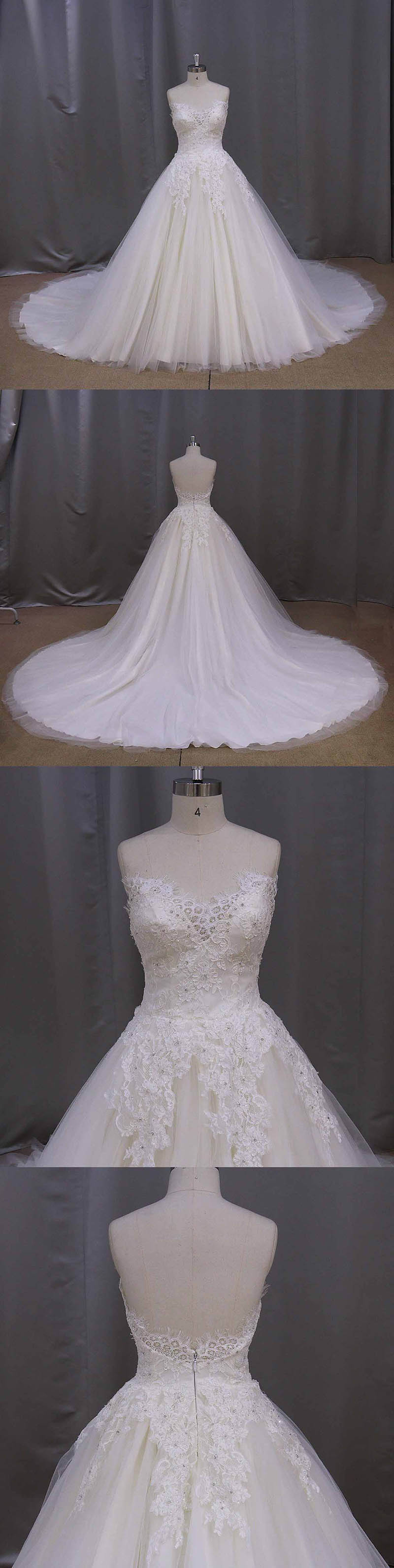 Modest Lace Wedding Dress Bridal Dress Gown