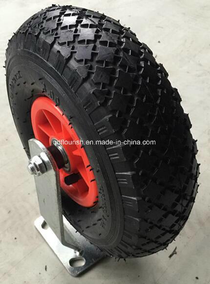 Industry 10X3.00-4 Pneumatic Rubber Caster Wheel