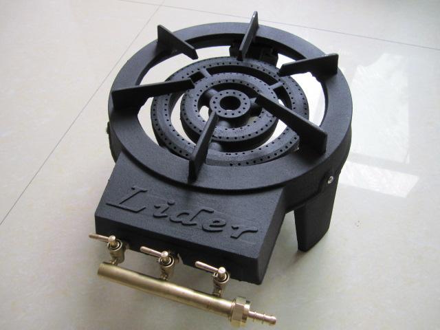 GB-15b 4PCS Leg Gas Burner Cast Iron