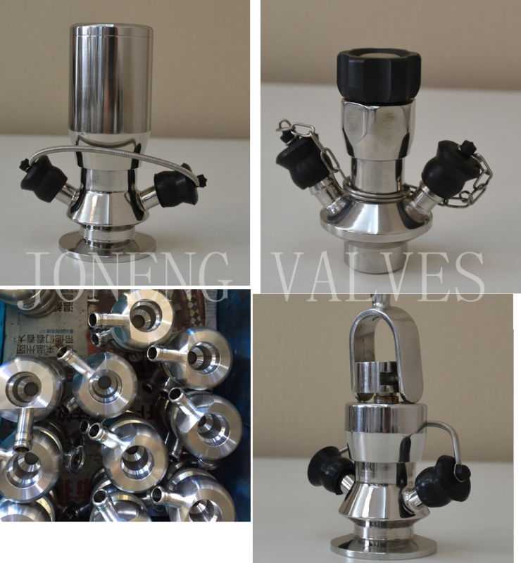 Stainless Steel Sanitary Aseptic Clamped Sample Valve (JN-SPV1009)