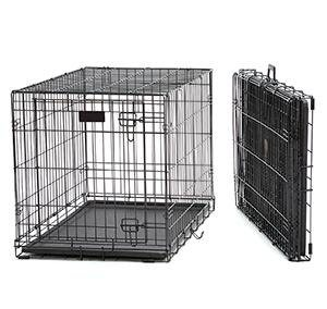 30'' Foldable Wire Dog Crate