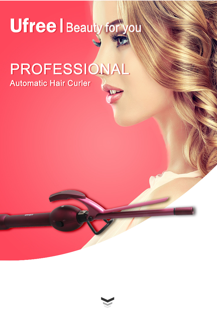 Ufree New Style Curling Wand for Man and Woman Slim Hair Curler