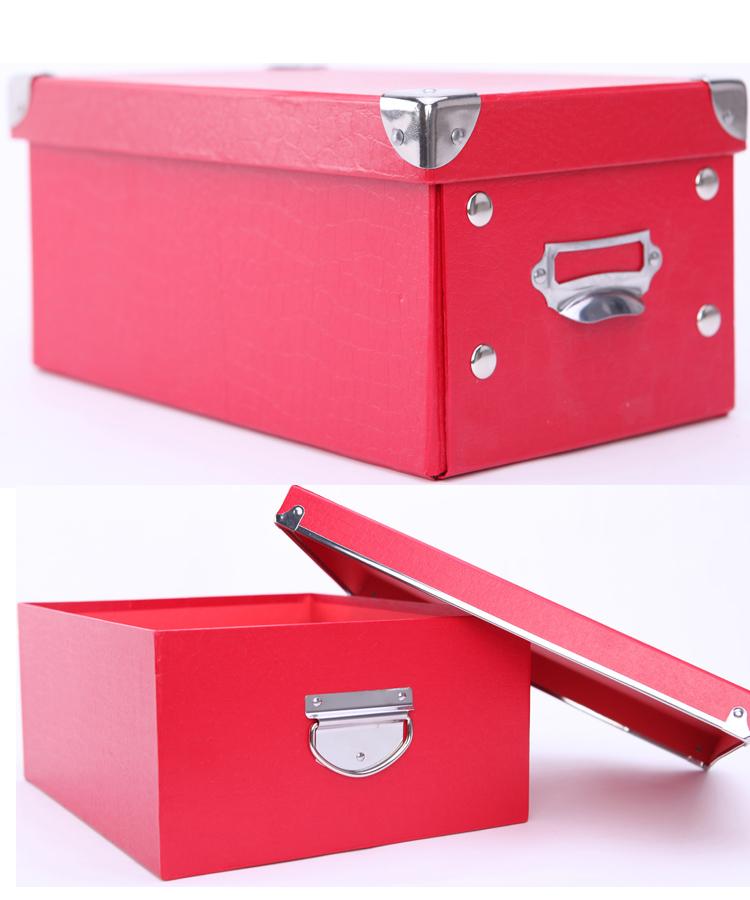 Classic White Office Storage Box / Desktop Organizer Box