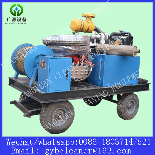 Diesel Engine High Pressure Cleaning Equipment Industrial Pipe Cleaning Machine