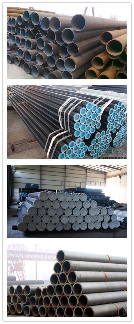 ASTM API 5L Black Carbon Steel Pipe for Transport