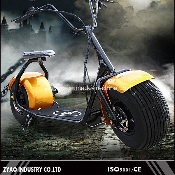 China Factory Wholesale Citycoco Chinese Cheap Adult Electric Motorcycle E-Scooter