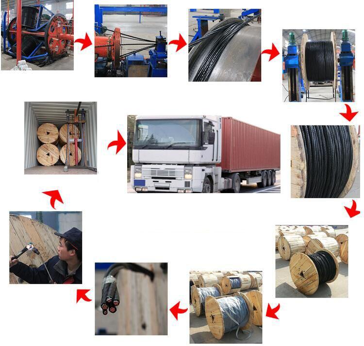 Duplex/Triplex/Quadruplex Service Drop Wire ABC Overhead Wire
