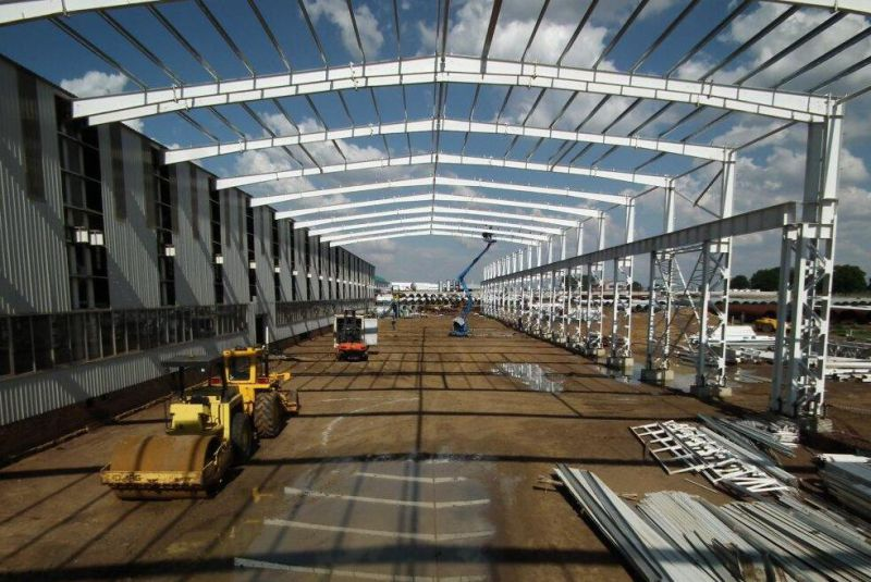 Structural Steel Prefabricated Workshop