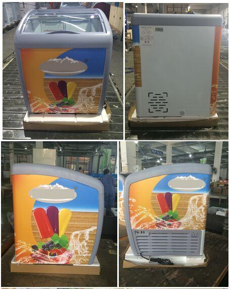 ETL Ice Cream Deep Display Freezer