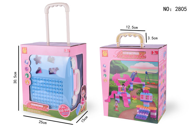 Baby Romantic City Blocks Bricks Promotional Gift