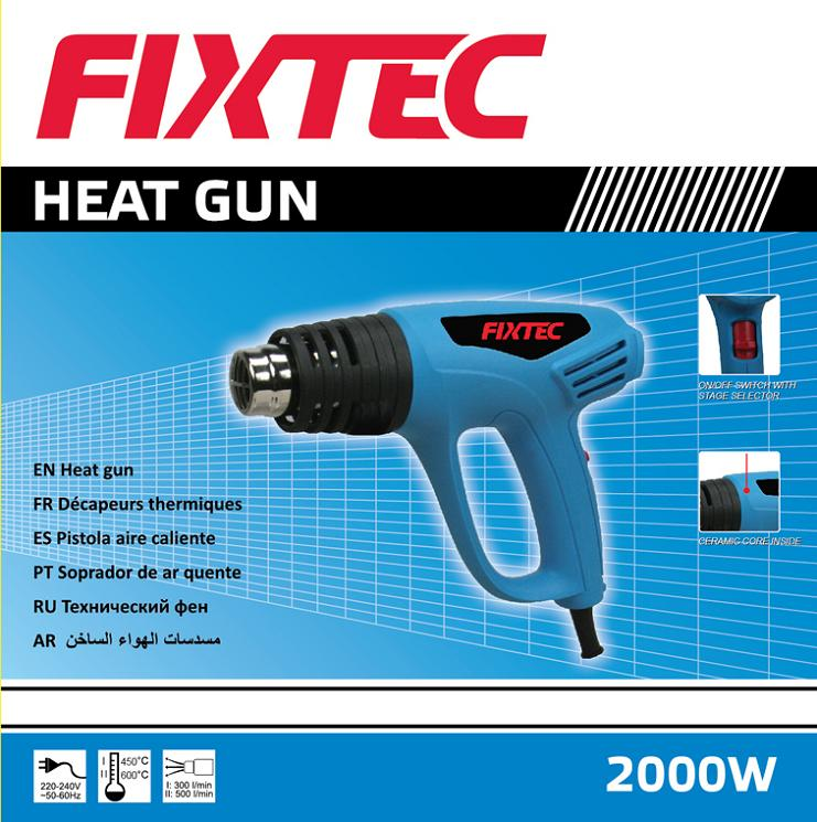 Fixtec 2000W Hot Air Gun of Electric Heat Gun