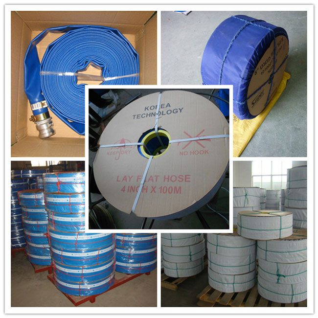 Heavy Duty PVC Layflat Hose for Irrigation