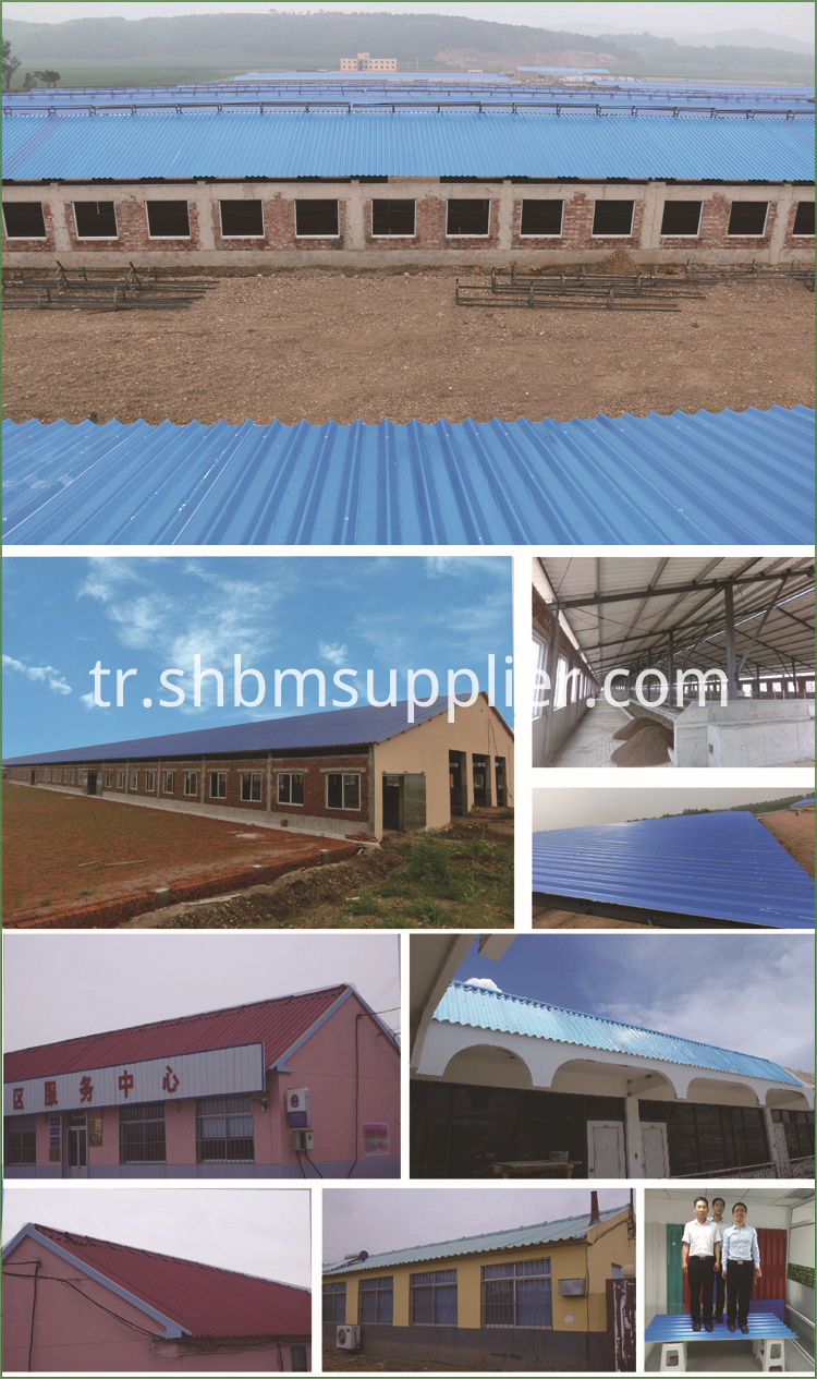 Anti Corrosion Roofing Materials