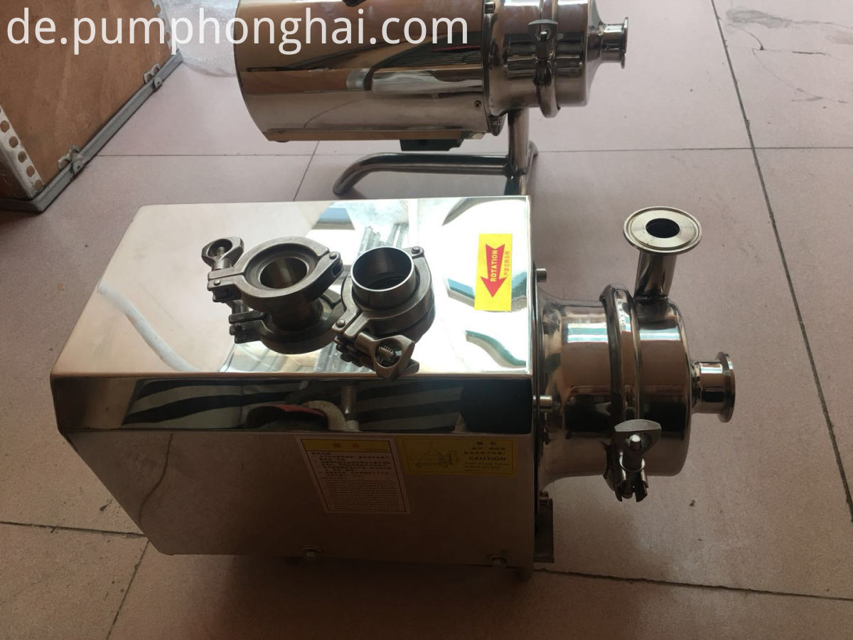 Sanitary Wine Pumps